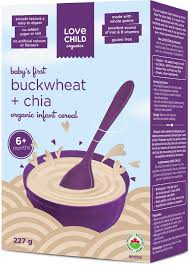 buckwheat &chia infant cereal 227g