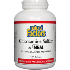 GLUCOSAMINE SULFATE &NEM 120 TABLETS