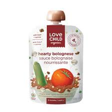 Love Child Apple Butternut corn squash 128ml