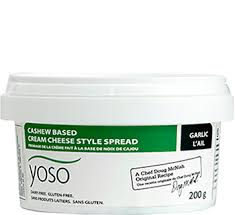 garlic spread cream cheese 200g