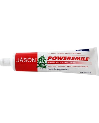 jason power smile peppermint ning toothpaste