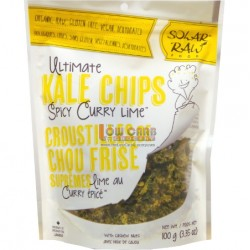 SOLAR RAW SPICY CURRY KALE 100g