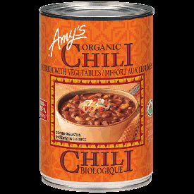 Amy's Chili with Vegetables - Medium 398 ml