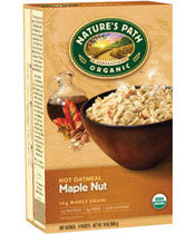 Nature's Path Maple Nut Hot Oatmeal  8pk