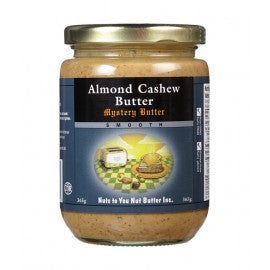 ALMOND CASHEW MYSTERY BUTTER SMOOTH 365 g