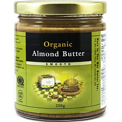 Nuts Organic Almond, Smooth 250g
