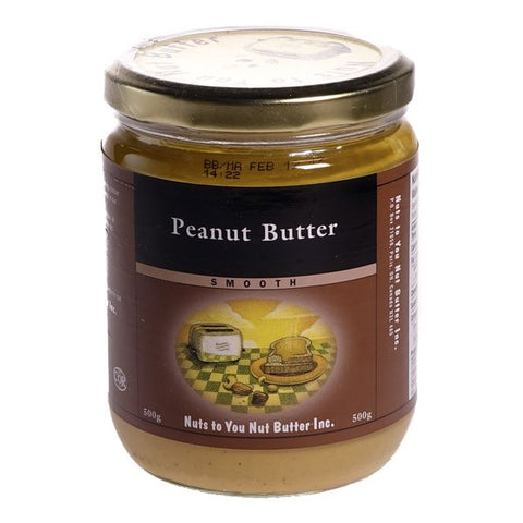 Peanut Butter, Smooth 500 g