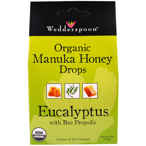 MOANUKA HONEY DROPS EUCALYPTUS 120G
