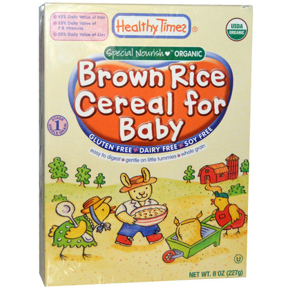 HEALTHY TIMES BROWN CEREAL