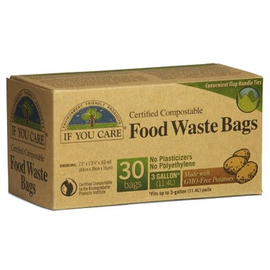 IF YOU CARE FOOD WASTE 30 BAGS