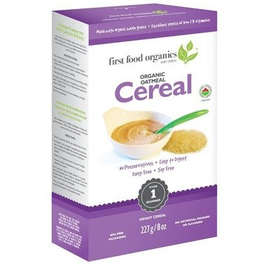 First Food Oatmeal Cereal 227g