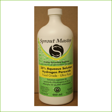 SPROUT MASTER 35% HYDROGEN PEROXIDE 460ML