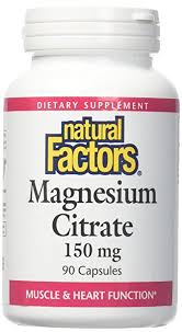 Nat Factors Magnesium Citr 150MG 90 Cap