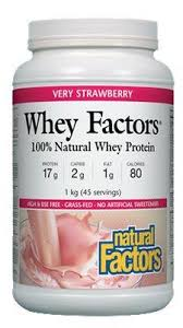 Whey Factors Straw Pwd 1KG