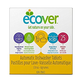 Ecover Automatic Dishwasher Tablets 17.6 oz