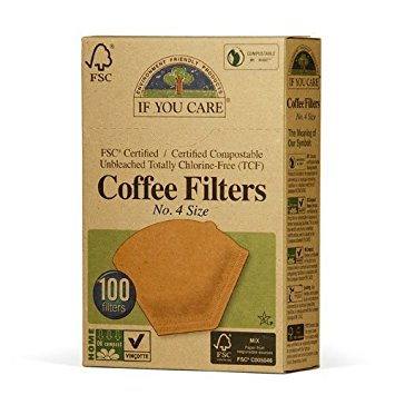 Coffee Filters Size 4 100ct