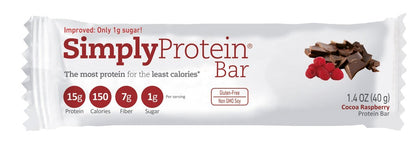 SIMPLY PROTEIN BAR- COCOA RASBERRY
