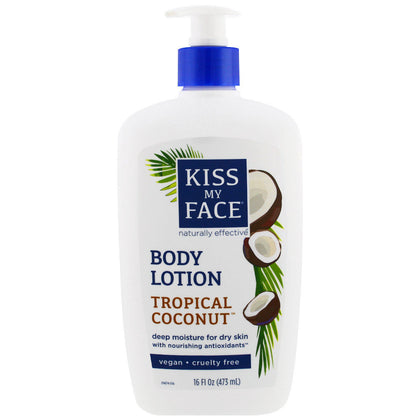 KISS MY FACE DODY LOTION TROPICAL COCONUT 473ML