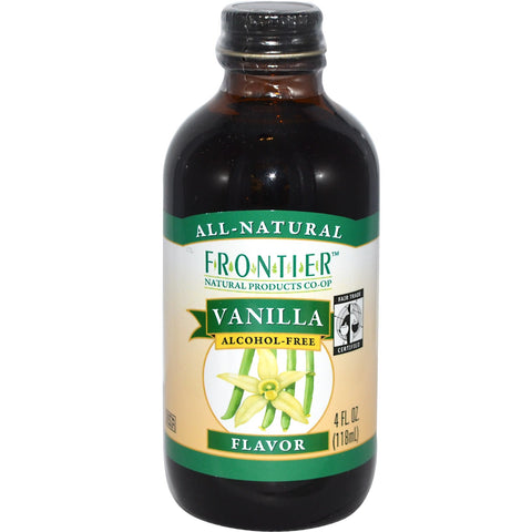 Vanilla, Organic, Fair Trade 118 ml