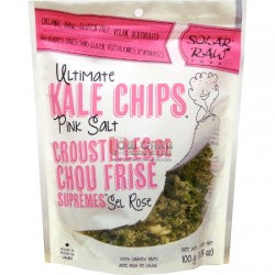 SOLAR RAW PINK SALT KALE CHIPS 100G