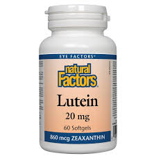 LUTEIN 20MG - 60SOFTGELS