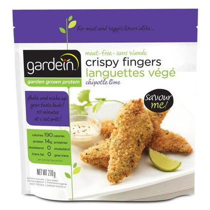 MEAT FREE CRISPY CHIPOTLE LIME FINGERS 270g