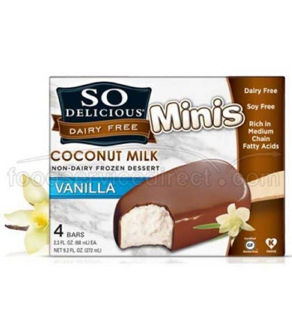 COCONUT MILK VANILLA coated BARS