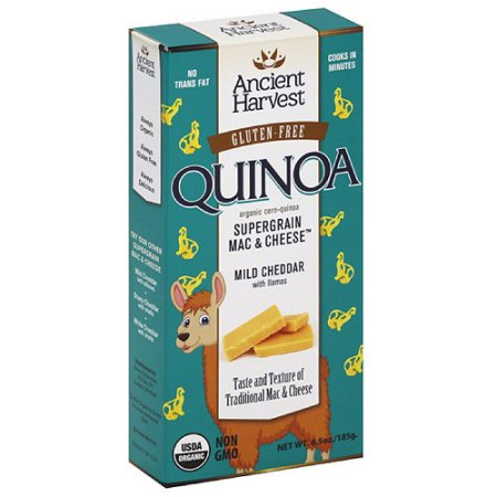 Ancient Harvest Quinoa Llama Mac N Cheese