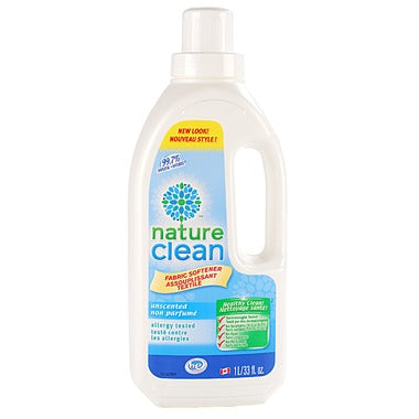 Nature Clean Fabric Softener Unscented
