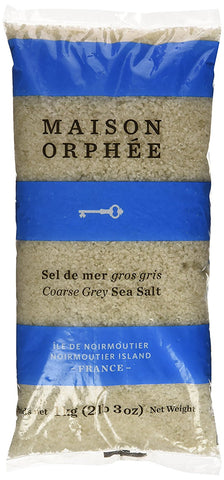 COARSE GREY SEA SALT 1KG BAG