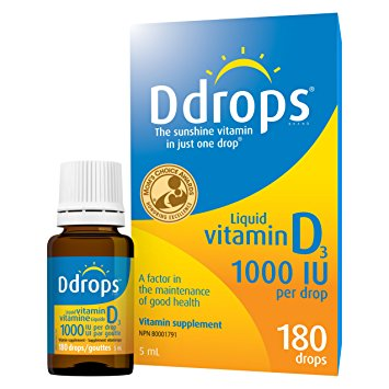 DROPS VITAMIN D 1000IU 5ML