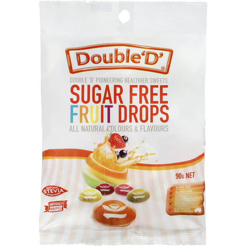 SUGAR FREE FRUIT DROPS 70G