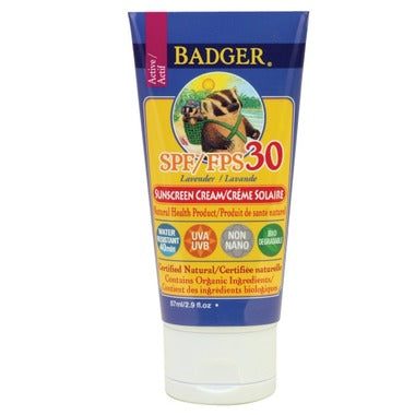 SPF 30 SUNSCREEN LAVENDER CREAM 78ML