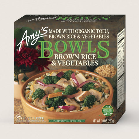 BOWLS- BROWN RICE AND VEGETABLES