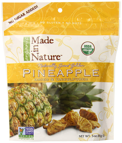 Made In Nature Dried Pineapple 85g