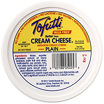 Tofutti Soy Cream Cheese Non-Hydrogenated