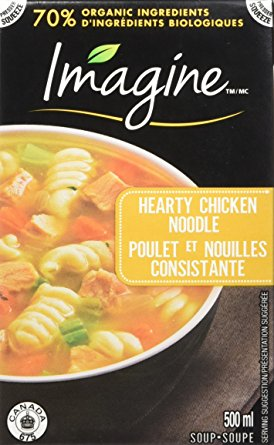 HEARTY CHICKEN NOODLE SOUPS