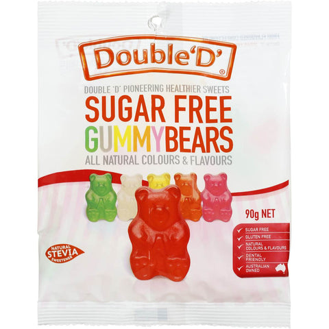 SUGAR FREE GUMMY BEARS 90G