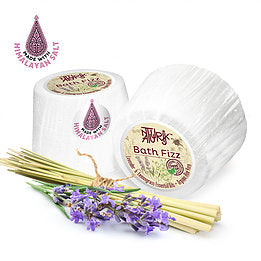 bath fizz Lavender lemon grass