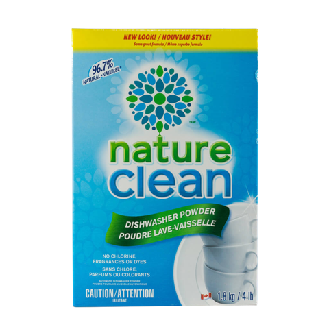 Nature Clean Automatic Dishwasher Powder 1.8kg