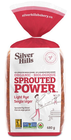 LIGHT RYE SPROUTED POWER