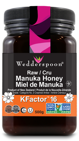 RAW MANUKA ACTIVE 16+ HONEY