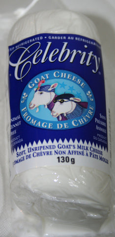 Celebrity Plain Goat Cheese 130g