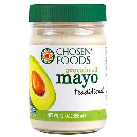 chosen foods avocado oil mayo 355 ml