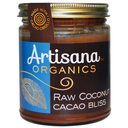 artisana organic cacaoa bliss with chocolate 227g
