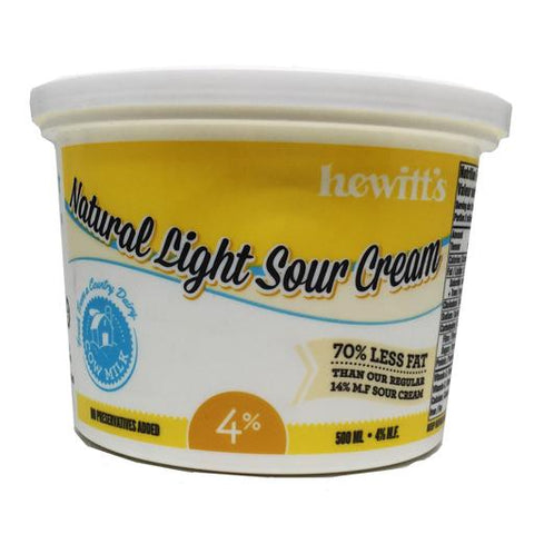 Hewitt's COW Sour Cream 500ml