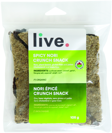 SPICY NORI CRUNCH SNACJK