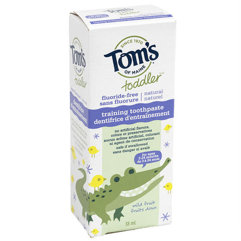 tom toddler training toothpaste 38g