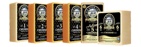 black river cheese 2 years cheddar