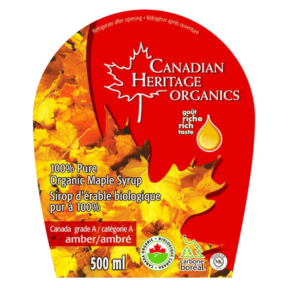 100% PURE MAPLE SYRUP AMBER #2 -500ML